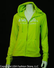 NWT Hollister by Abercrombie Women's Hoodies Boat Canyon Neon Green
