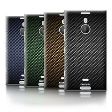 STUFF4 Back Case/Cover/Skin for Nokia Lumia 1520/Carbon Fibre Effect/Pattern