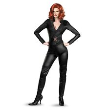Marvel The Avengers Black Widow Deluxe Adult Womens Costume