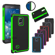 Hybrid Rugged Impact Rubber Hard Case Cover for Samsung Galaxy Note Edge N915
