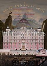 The Grand Budapest Hotel Movie Film Poster A3 A4