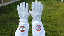 SALE Beekeeping gloves Goat skin Leather & 100% Cotton Beekeeper Gloves Pair