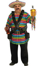 ADULT MENS HOMBRE MEXICAN TEQUILA DRINKING FANCY DRESS HALLOWEEN COSTUME