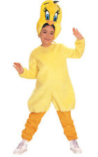 LICENSED CHILD TWEETY BIRD LOONEY TUNES GIRLS FANCY DRESS BOOK WEEK COSTUME