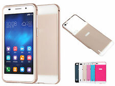 LUXURY Shockproof Aluminum Metal Frame Bumper Case Cover For Huawei Honor 6