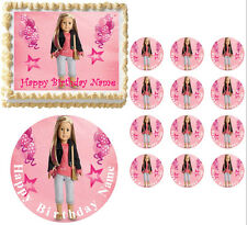American Girl Doll 2014 ISABELLE PARTY Edible Cake Topper Sheet All Sizes!