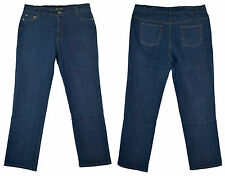 Set of 2 Men's Cotton Stretch Jeans Relaxed Classic Fit 5 Pocket