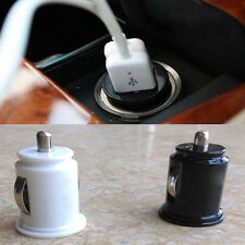Car Charger Adaptor Bullet Dual Mini USB 2Port For iPhone 4 S 5 Samsung