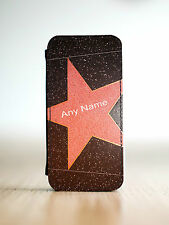 Hollywood Star iPhone 4 4S or iPhone 5 5S Flip Leather Case Cover For Apple