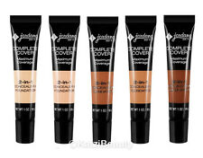 Jordana Complete Cover 2-in-1 Concealer & Foundation-Choose Color
