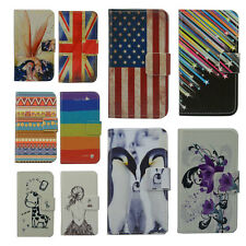 For BLACKBERRY iPhone LG case Wallet Card DELUXE leather cartoon cute Cover
