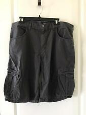 The North Face Mens Acadia Cargo Shorts Graphite Grey NWT Size 34-40/Lng