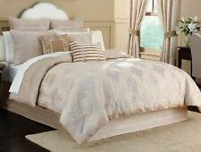 Croscill Pearl Comforter Set Ivory Gold Champagne Elegant Luxurious 1st Quality