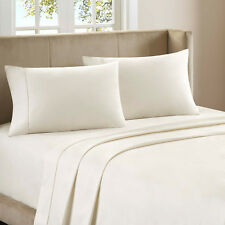 Sheet Set Egyptian Cotton 1500TC 3 Color!& All USA Size Free Ship Made in India!