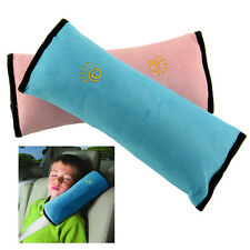 Child Kid Car Vehicle Seatbelt Shoulder Safty Mini Pillow Cushion Head Support
