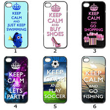 Designer Phone Hard Case Cover Keep Calm Designer Collection 7b