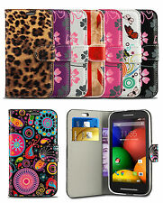 Flip Leather Wallet Case Cover For Samsung Galaxy Trend Plus S7580 Mobile Phone