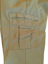 Dickies Cargo Khaki Work Pants Industrial Relaxed Fit (65% Polyester/35% Cotton)