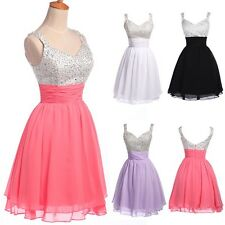 CHEAP~1 Short Prom Homecoming Evening Ball Gown Cocktail Party Bridesmaid Dress