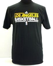 LOS ANGELES LAKERS NBA ADULT T-SHIRT SHORT SLEEVE NEW BY ADIDAS G34