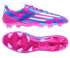 Adidas F50 Adizero FG M17677 Pink/Blue/White Messi Soccer Men's 3D UEFA Cleats