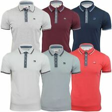 Mens Polo Shirt by Smith & Jones 'Gonzola' Short Sleeved