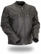 Mens Leather Motorcycle Jacket on Sale by altimate model Toronto