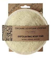 Hydrea Organic Loofah Face & Body Pad~Massage&Exfoliate~Cellulite~Detox~Natural