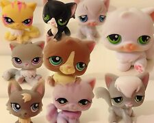 LPS LITTLEST PET SHOP CATS: PERSIAN & ANGORA.COMBINED WORLD POSTAGE.TAKE A PICK