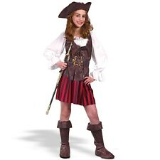 High Seas Pirate Buccaneer Child Costume Girls Outfit