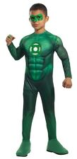 Green Lantern Muscle Deluxe Toddler & Child Costume HAL JORDAN Superhero