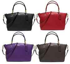 NWT AUTH COACH SMALL KELSEY CROSSBODY BLACK, VIOLET, BROWN, VIOLET, RED 33733