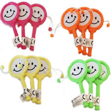 MUSICAL Smiley Bell TAMBURI Mini Kids Baby Party Bag Filler Loot favore GIOCATTOLO GIOCO