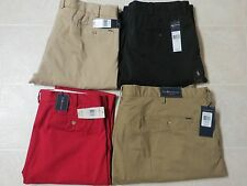 Polo Ralph Lauren Mens Classic Custom Stretch Slim Suffied Fit Pants Chino NWT