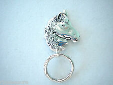MAGNETIC or PIN ID Name Badge Holder OR Handy Reading/SunGlasses Holder.Horse