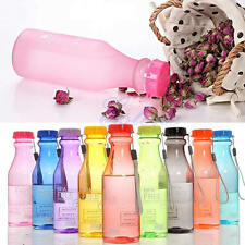 Unbreakable Portable Sport Travel Water Bottle Leak-proof Cycling Camping Cup