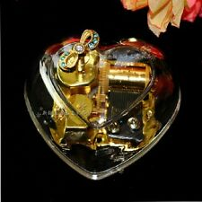 30 Songs Options Heart Shape Music Box :You are my sunshine / Let it go (frozen)