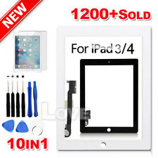 OZ Digitizer Front Glass Touch Lens for Apple New iPad 3 4 Screen Replacement