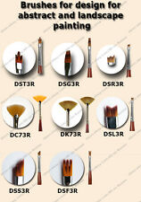 Brushes for design abstract and landscape DK73R DC73R  DSG3 DSR3R DST3R Roubloff