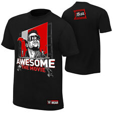 The Miz AWESOME: THE MOVIE Black WWE Authentic T-Shirt OFFICIAL LICENSED & New
