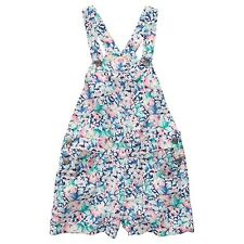 BNWT GIRLS OVERALL PLAYSUIT PRETTY FLORAL COTTON  SIZE 3 4 or 5 NEW