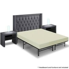 """Best Price Quality 6"""" Memory Foam Mattress and Bed Frame Set"""