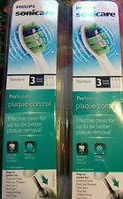 Philips ProResults Sonicare Plaque Control 3 Replacements Heads HX9023 *2 Packs*