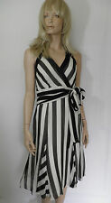 NEW MARKS AND SPENCER AUTOGRAPH HALTER NECK DRESS SIZE 12 AND 14 DE-BRANDED