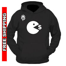 Manny Pacquiao Training Hoodie PACMAN eating Money Floyd Mayweather May2 BOXING