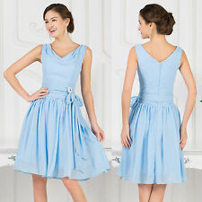 VINTAGE 1950s Short Mini Homecoming Prom Dresses Party Bridesmaid Evening Dress