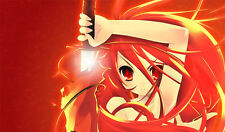 Custom Playmat Shakugan no Shana Anime MTG CARDFIGHT VANGUARD Mat Game Mouse Pad