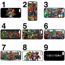 Marvel super heroes lot phone case cover iPhone 4 4s 5 5s 5c 6 6 plus z2 z3