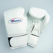 Winning Boxing Gloves Velcro Professional Type MS-300B 10 oz From Japan