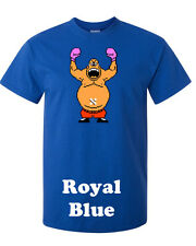 """Mike Tyson's Punchout """"King Hippo"""" Classic Nes  T-shirt Onsie S-XXXX NEW"""